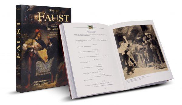 Faust de Goethe – La Petite Collection – Couverture
