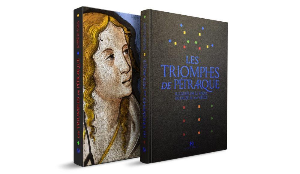 Les Triomphes de Pétrarque Illustres par le Vitrail de Aube au XVIe Siècle – La-Collection – Couverture