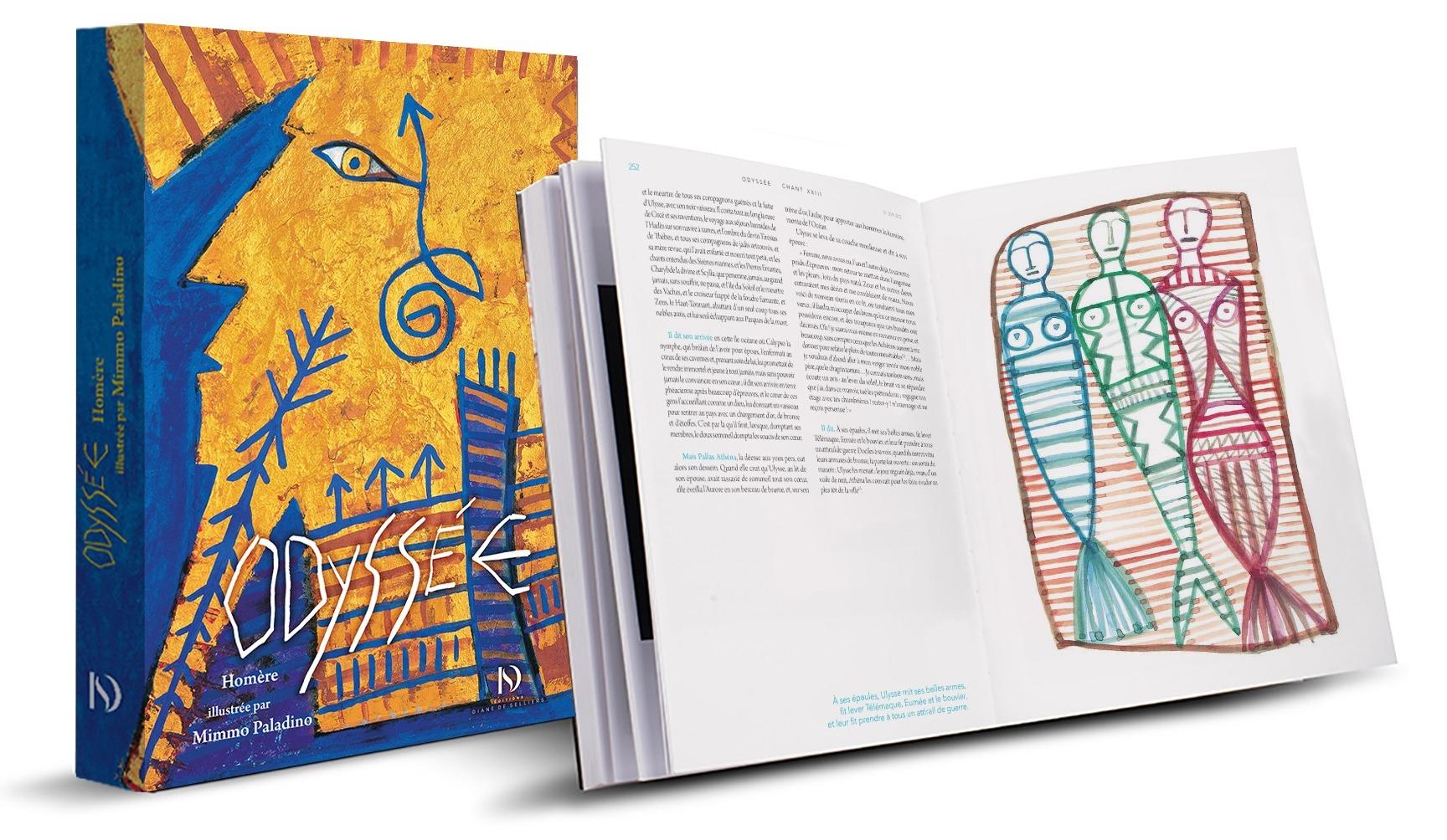 Liliade et l'Odyssee - Homere - La Petite Collection - Couverture